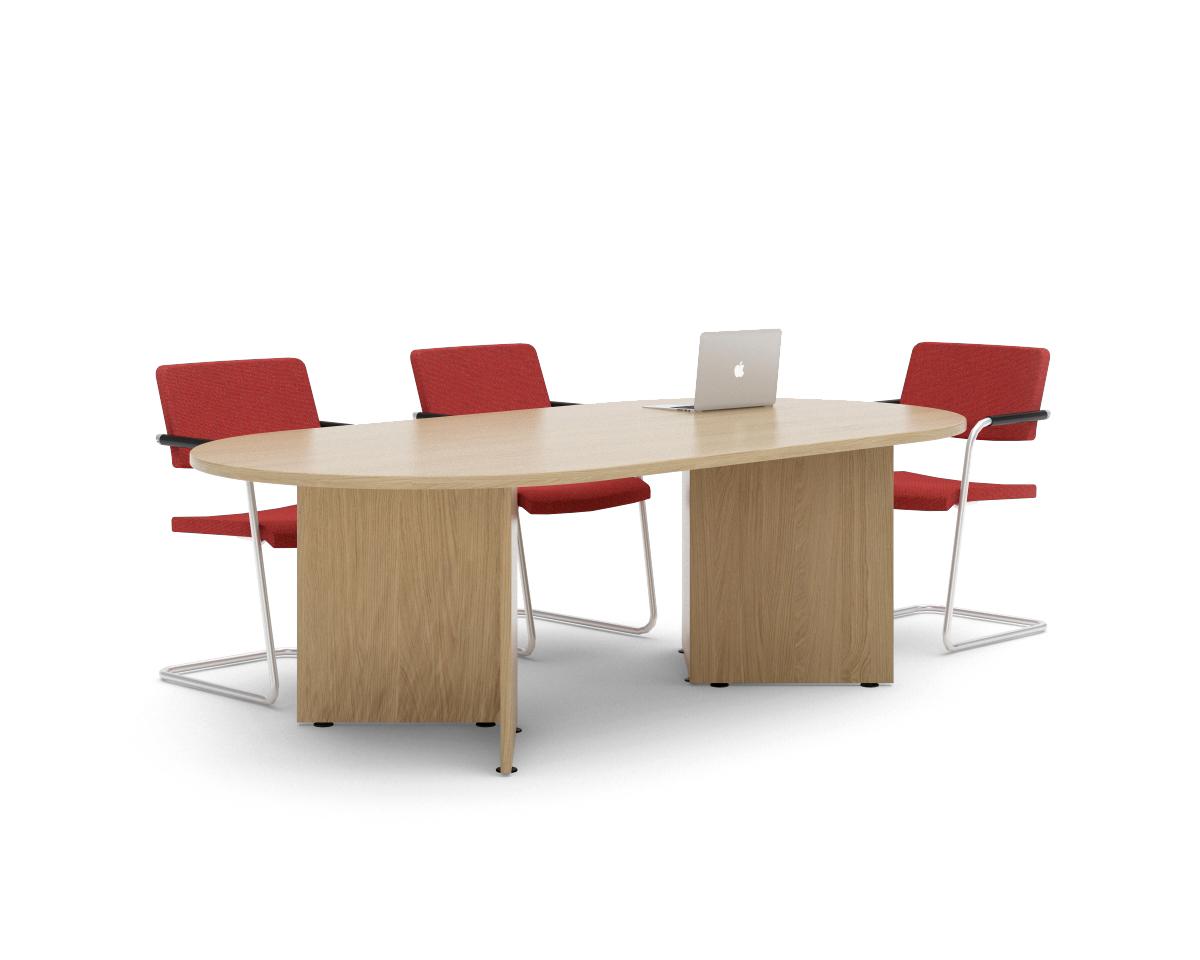 Visual Arrowhead Meeting Table