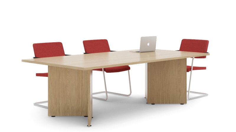 Visual Arrowhead Meeting Table